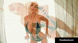 Euro Blonde Goddess Puma Swede & Miss Stylez Love Wet Pussy!