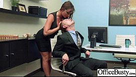 Cute Girl With Big Tits Get Seduced And Banged In Office movie-15 sex image
