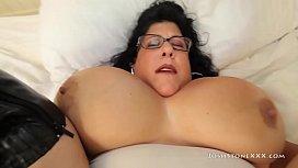 Huge Boob Milf Carol Foxxx Titty Fucks Big Black Cock
