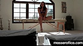 Massage therapist giving her patient some unknowing love 11 xvideos preview
