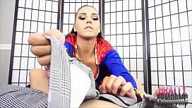 Sasha Foxxx Super Footjob COSPLAY FOOT JOB
