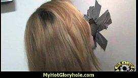 Sexy Wild Lady Deepthroats At Gloryhole 14