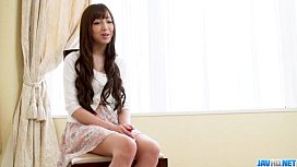 Sensual posing by amateur Japanese girl& Anri