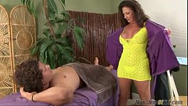 margo sullivan giving massage