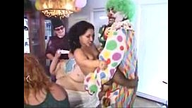The clown the midget and the big baby More Videos FETISHRAWCOM