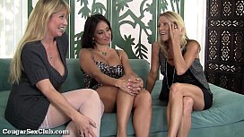 Stacked Horny MILFs Love Being Slutty Together