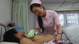 JAVHUB Japanese nurse Maria Ono fucks her patient
