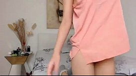 Hot teen anal fuck with toy on webcam