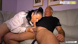 AMATEUR EURO - #Abby Titts - BBW German Wife Fucks With Neighbor While Husband It'_s At Work