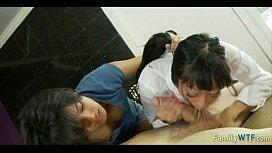 mother teaching daughter 390
