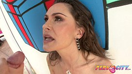 PervCity Nora Noir Is An Eager Anal Newbie