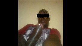 Young Boy in luanda shows his monster cock
