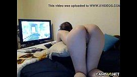 Naked Gamer Girl