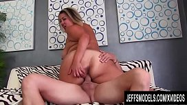 Fat Latina MILF SinFul Celeste Mounts Her Experienced Pussy on a Hard Cock