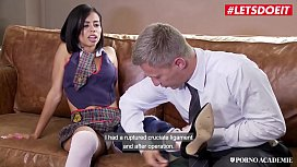 PORNO ACADEMIE - Naughty School Girl Canela Skin Wants Sex After Class