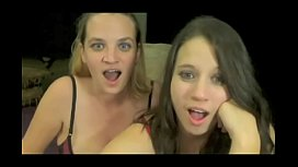 Webcam girls awesome reactions to selfsucking and cum in mouth more videos on CAMSBARNcom