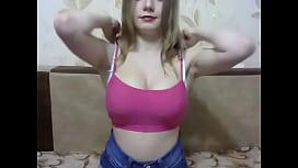 Shy russian cam-bitch perfect tits FreeCamGirls.Club