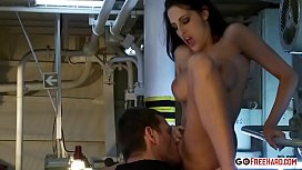 Sexy Fitness Chic Loves To Handle His Cock And Fuck Wild