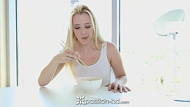 PassionHD Pretty Samantha Rone does with her man