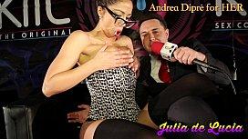 Julia de Lucia puts a lollipop in her vagina for Andrea Dipr&egrave