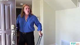 FILF  - Jessa Rhodes' stepparents Evan Stone And Nina Hartley invading her for the weekend part.1