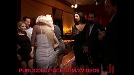 MILF Get Disgraced and Gangbanged at a Dinner Party xxx image