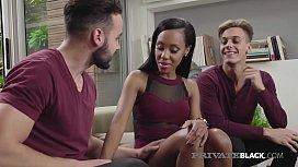 PrivateBlack - Bubble Butt Mulatta Noemilk Has Threesome!