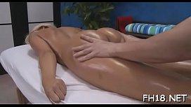 Raunchy massage vids