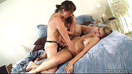 ATK Hairy Lesbians Yanna,Sativa & Joe 136 V#15