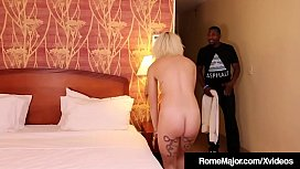 Dick Addict Marilyn Moore Gets Pounded By Rome Major!