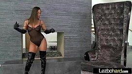 Lez Girls (Aj Applegate &amp_ Abigail Mac) In Sex Action clip-06