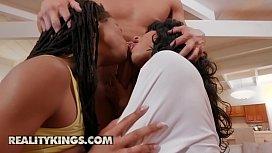 (Anya Ivy, Xander Corvus, Kira Noir) - Ebony Three Player Game - Reality Kings