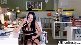 Office Girl (audrey bitoni) With Big Melon Tits Love Sex movie-19