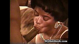 Lila is the ebony starlet in this vintage hardcore