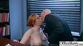 Office Sex Action With Sluty Horny Big Tits Girl Lauren Phillips clip