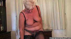 id 8984771: British grannies exposing their lickable fannies