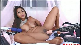 Asian Sex Toys Girl do Anal on Cam amml