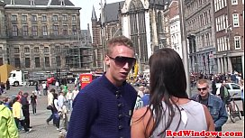 Petite dutch prostitute pu ounded by tourist
