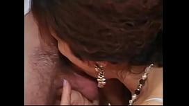 Older brunette gets her hairy pussy fucked