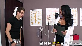 Doctors Adventure - Dirty Doctor Jessica Jaymes Take Up The Stethoscope And Fucks - Brazzers