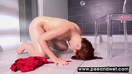 Amarna Miller Drinks Piss And Plays With Toy