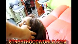 Jersey Ebony first Threesome Exposed