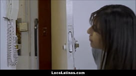 Hot Skinny Latina Fucked By Roommates Boyfriend Spanish
