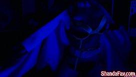 BatGirl Shada Fay gets Anal Creampie in Batcave!