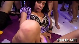 Explicit group fucking delights xxx video
