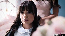 Groomed stepdaughter Alison Rey jealous on moms new BF