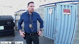 Screw the Cops - Latina bad girl gives a cop a blowjob