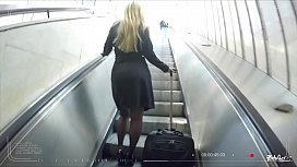 BITCHES ABROAD - Hot Polish blonde tourist Misha Cross fucked POV in Prague