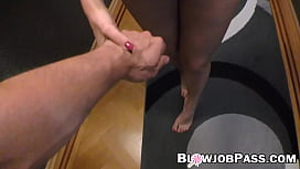 Teen with small tits Matt Bird suck and rides cock in POV