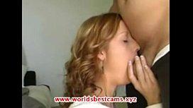 Horny MILF Doing Deepthroat Blowjob - www.WorldsBestCams.xyz